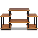 FUNIKA Entertainment Center [11257] - Light Cherry/Black
